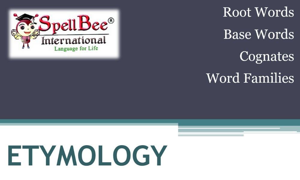 etymology word origins